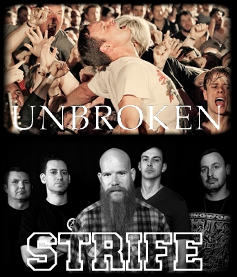 UNBROKEN STRIFE JAPAN Tour 2014 with ENDZWECK