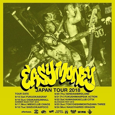EASY MONEY JAPAN TOUR 2018